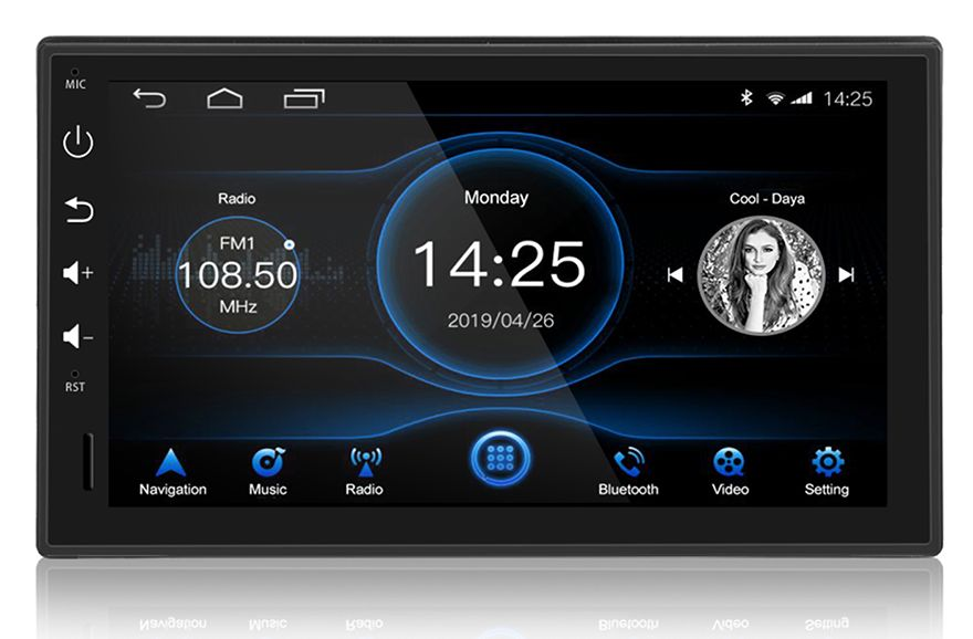 "Автомагнитола 7"" Android 8.1, 4+32G GPS"