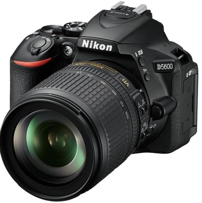 Зеркальный фотоаппарат Nikon D5600 Kit 18-55 VR AF-P