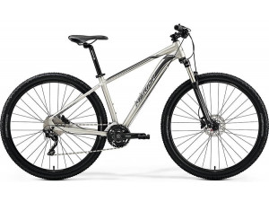 "Велосипед Merida Big Nine 80-D MattTitan (Black/Silver) 2019 L(18.5"")(80868)"