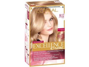 L'Oreal Excellence Краска для волос тон 8.12 мистический блонд