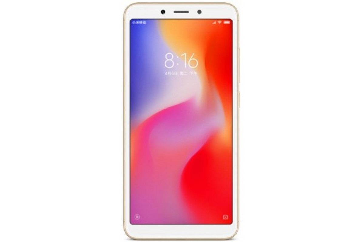 Смартфон Xiaomi RedMi 6 3/64Gb Gold EU