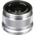 Объектив Olympus M.Zuiko Digital 25mm f/1.8, серебро (