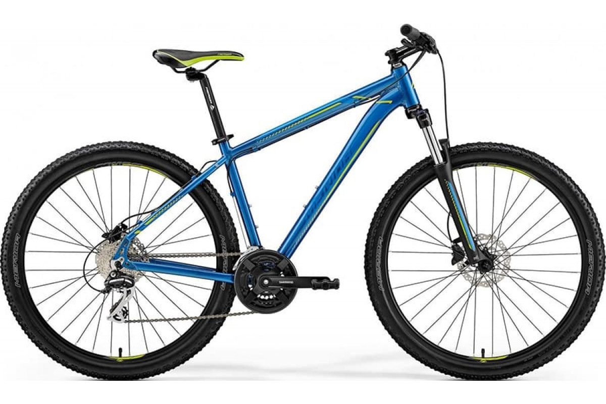 "Велосипед Merida Big Seven 20-D Blue (Green) 2019 S(15"")(93663)"