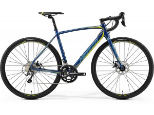 Велосипед Merida CycloCross 300 Petrol (Yellow/Lite Teal) 2019 XS(47cm)(77160)