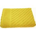 Коврик махровый ADT 50х70 желтый