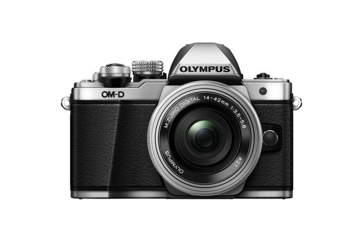 Фотоаппарат Olympus OM-D E-M10 II kit 14-42 EZmm f/3.5-5.6, серебро (