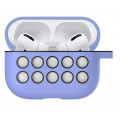 Чехол Bakeey Luxury, силиконовый, для Apple Airpods Pro 2019, c брелоком, 04