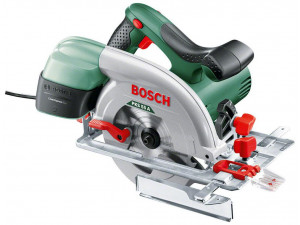 Пила циркулярная Bosch PKS 55 A (0.603.501.020)  1200Вт 5300об/мин 160x20мм макс.пропил 55мм