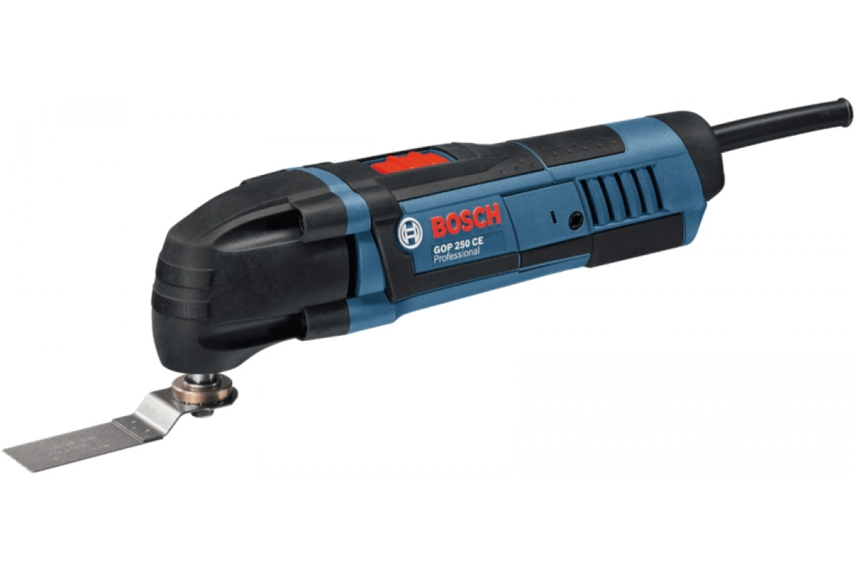 Многофункциональный инструмент Bosch GOP 250 CE (0.601.230.000)  250Вт 8000–20000/мин 1.4°