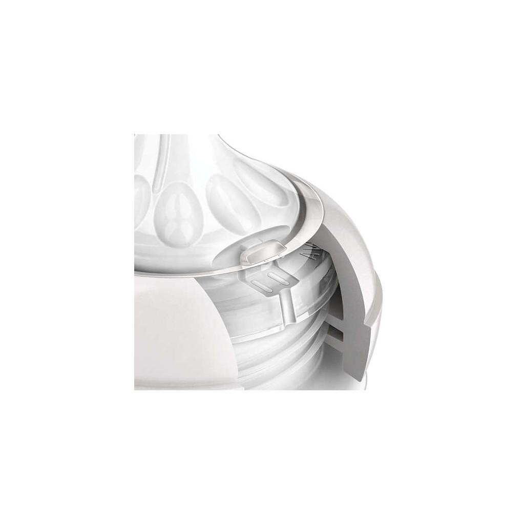 Соска силиконовая AVENT SCF655/27 серии Natural, 2шт, с 3 мес.
