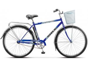 "Велосипед Stels Navigator 28"" 300 Gent Z010/Z011 (с корзиной) (LU085341) Синий"