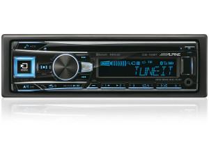 Автомагнитола CD Alpine CDE-193BT 1DIN 4x50Вт