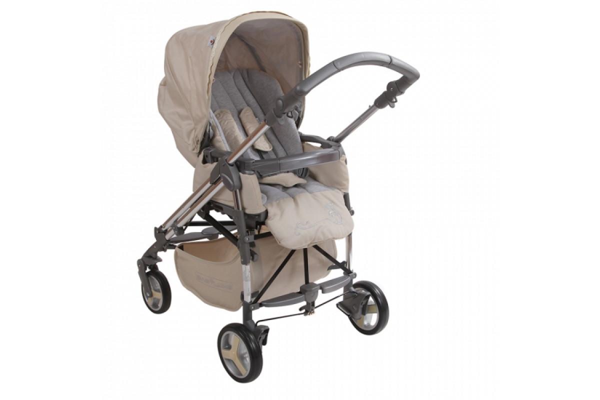 BabyLux Carita 205S (4 колеса) - прогулочная коляска бежевая