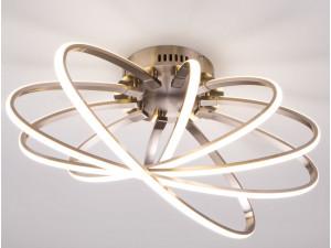 Потолочный светодиодный светильник Eurosvet Evia 90100/5 сатин-никель