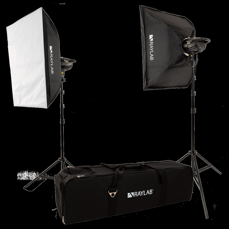 Комплект импульсного света Raylab Axio III 200 Basic Kit Уценка 8434