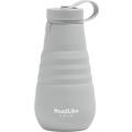 Бутылка складная RoadLike Mojo 500мл, серый
