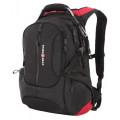 "Рюкзак Swissgear 15"", черный/красный, 36х17х50 см, 30 л, шт"