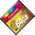 Карта памяти Transcend Ultimate CompactFlash 64GB UDMA7 VPG-20 (160/120 Mb/s)