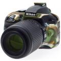 Силиконовый чехол easyCover для Nikon D3300 / D3400, камуфляж