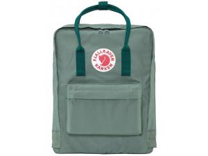 Рюкзак Fjallraven Kanken, зеленый, 27х13х38 см, 16 л, F23510-664