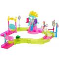 Mattel Barbie В движении Игровой набор парк аттракционов