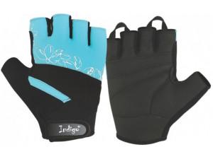 Перчатки для фитнеса женские INDIGO SB-16-1734 Бирюзовые L