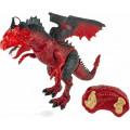 Интерактивная игрушка 1TOY RoboLife интерактивный дракон красный