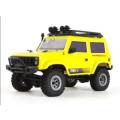 Автомобиль внедорожник URUAV влагозащищенный+доп.батарея, желтый