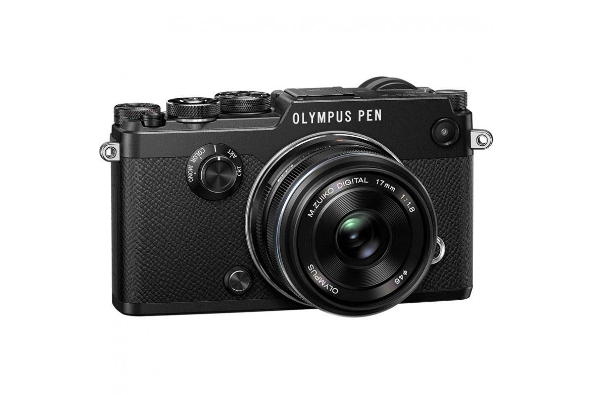 Фотоаппарат Olympus Pen F Kit 17mm f/1.8, черный