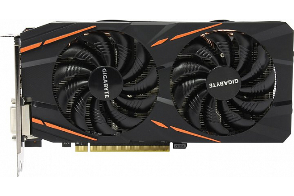 Видеокарта Gigabyte PCI-E GV-RX580GAMING-8GD AMD Radeon RX 580 8192Mb 256bit GDDR5 1340/8000 DVIx1/HDMIx1/DPx3/HDCP Ret