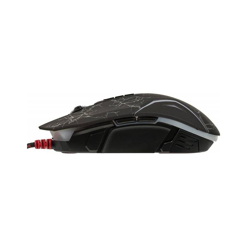 Мышь A4 Bloody N50 Neon черный оптическая (4000dpi) USB2.0 игровая (8but)