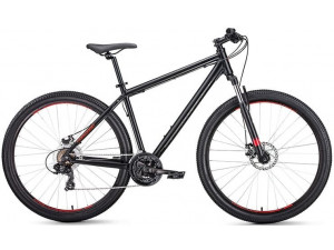 """Велосипед 27.5"""" Forward Apache 2.0 Disc Черный Матовый 18-19 г 15'"""
