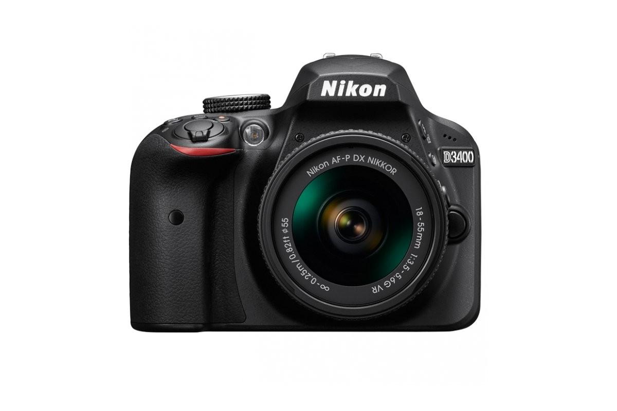 Зеркальный фотоаппарат Nikon D3400 Kit 18-55 VR AF-P