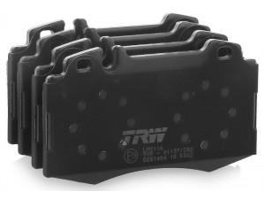 Колодки тормозные передние TRW  GDB1454 для MB W220 W163 4.3-5.5L