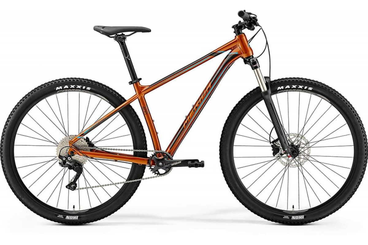 "Велосипед Merida Big Nine 400 Glossy Copper (Dark Brown/Blue) 2019 M(17"")(90325)"