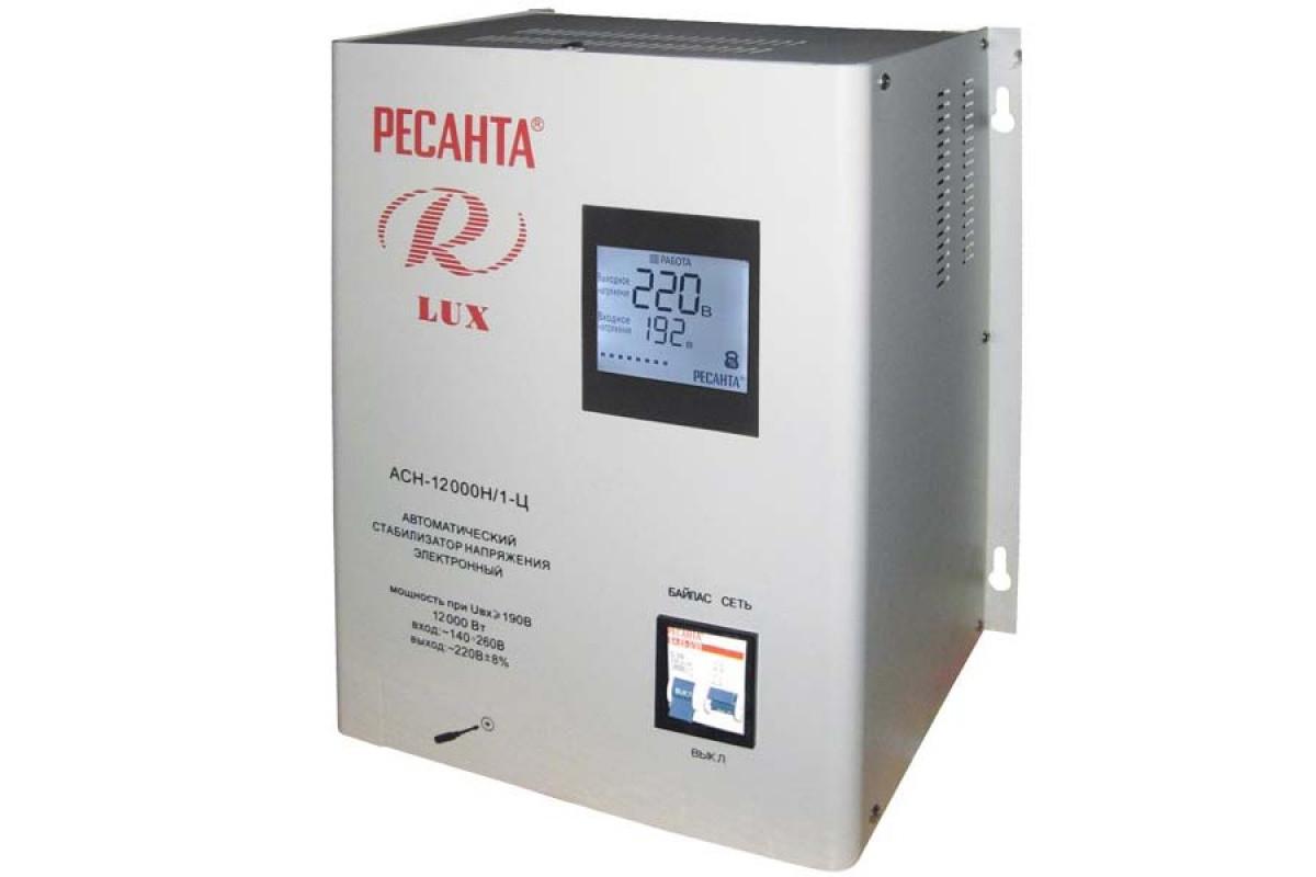 Стабилизатор Ресанта АСН-12 000 Н/1-Ц