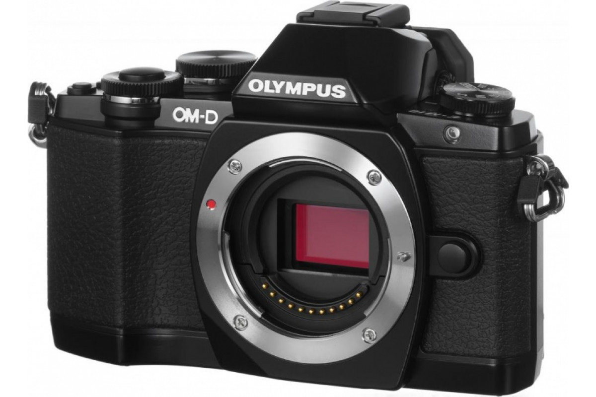 Фотоаппарат Olympus OM-D E-M10 kit 12-50 mm EZ, черный