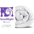 Одеяло GoodNight Organic овечья шерсть/тик 300 гр/м2 евро (200х220)