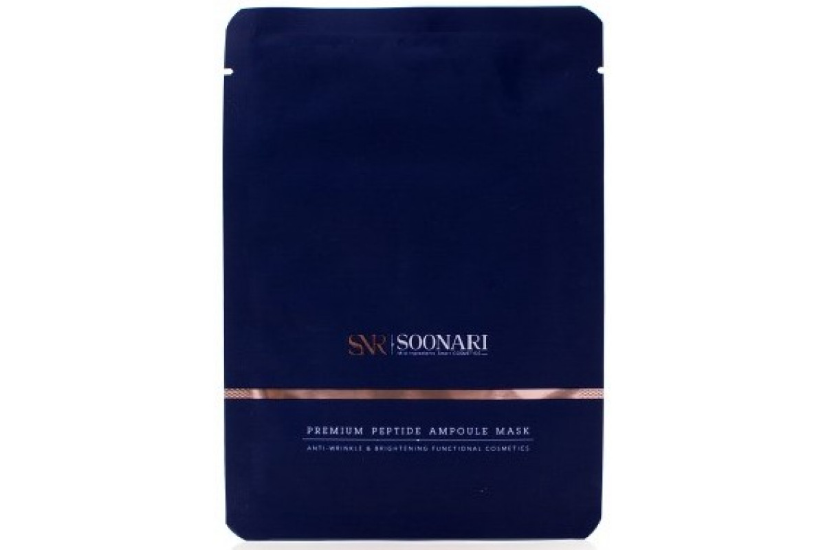 Soonari Premium Маски с пептидами 10 шт.