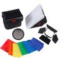 Комплект насадок Falcon Eyes FGA-K5 для накамерных вспышек