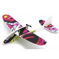 Самолет с батарейным блоком, размах крыльев 350мм, белый