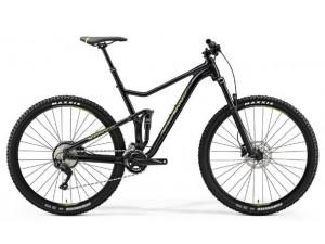 "Велосипед Merida One-Twenty 9.500 MetallicBlack (Green) 2019 L(19"")(89254)"