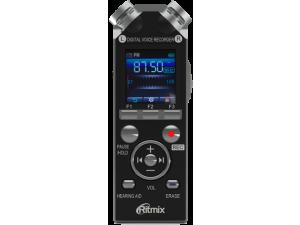 Цифровой диктофон Ritmix RR-989 4Gb черный