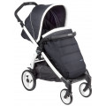 Peg-Perego Book Plus Pop-up Completo - прогулочная коляска 51 B/W, Luxe Blue