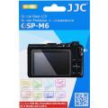 Защитное стекло JJC для Canon EOS M6, EOS M50, G9 X MarkII, G7 X MarkII, G5 X, G9 X, EOS M100, G1X Mark III