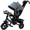 Sweet Baby Mega Lexus Trike - трехколесный велосипед Grey (10/12, Air, Music bar)