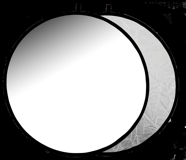 Отражатель 2в1 Raylab RF-09 белый/серебристый 60см