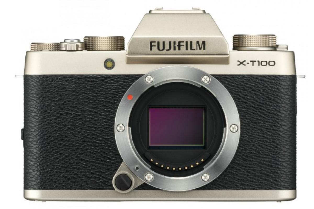 Фотоаппарат Fujifilm X-T100 Kit 15-45mm золото