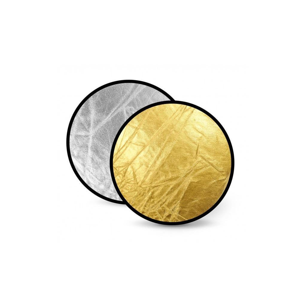 Отражатель 2 в 1 FST RD-021GS 60 золото/серебро