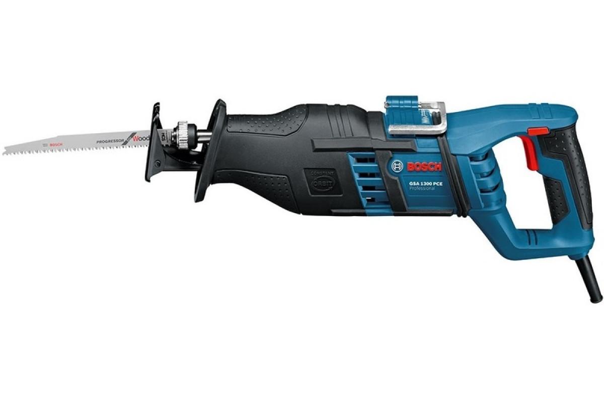 Ножовка Bosch GSA 1300 PCE (0.601.64E.200)  1300Вт 0-2900ход/мин рабочий ход 28мм дер-230мм мет-20мм